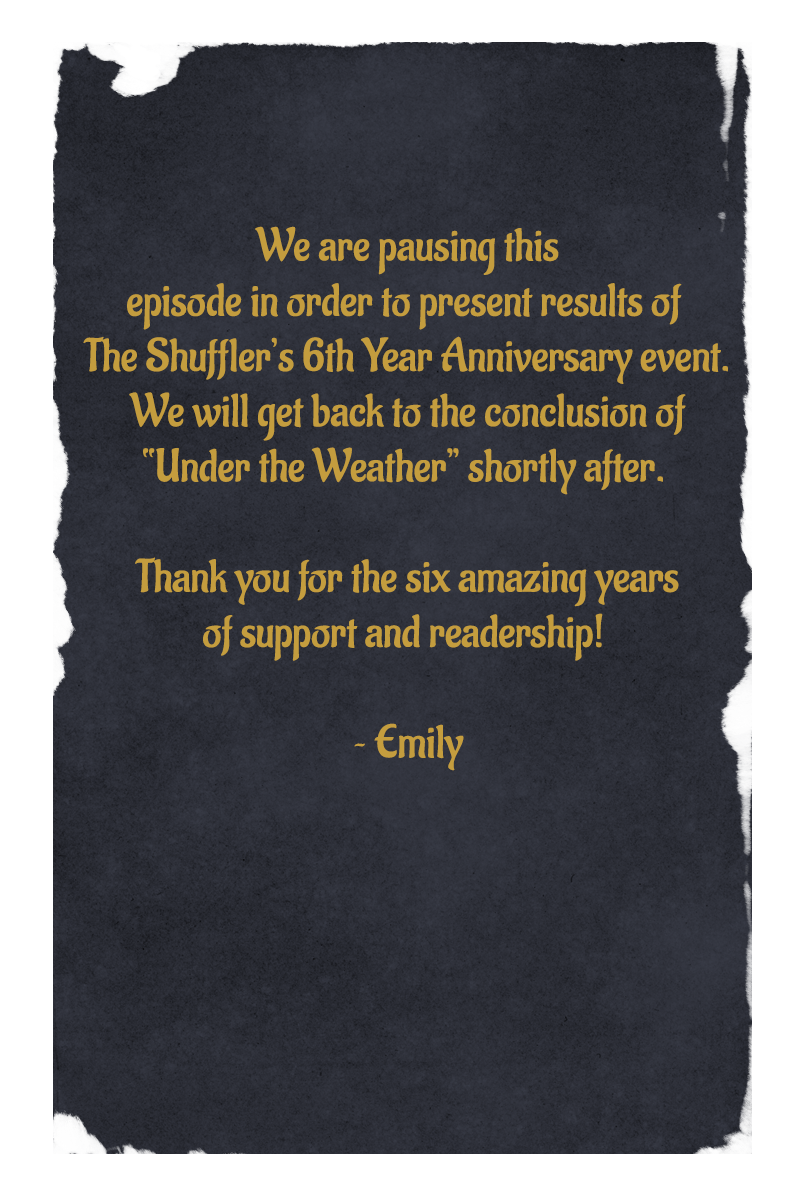 6th Year Anniversary Notice